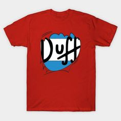 Duffman can't breathe under this shirt! Let's rip it off! YEAH! Grab this epic shirt from here: http://bestofsimpson.com/beer-hero