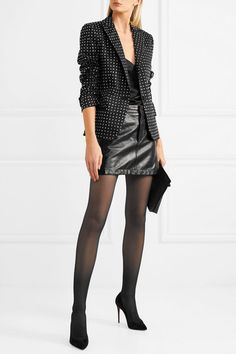 Moschino | Embellished cotton-blend blazer  | NET-A-PORTER.COM