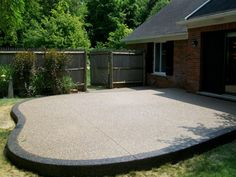 Patio 21- Exposed Aggregate