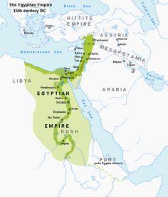 Egyptian empire, New Kingdom, 15th century BC.
