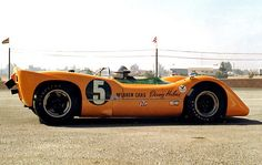 Denny Hulme's McLaren M6A at 1967 Riverside Can-Am. i don't think i've ever seen a factory m6a.
