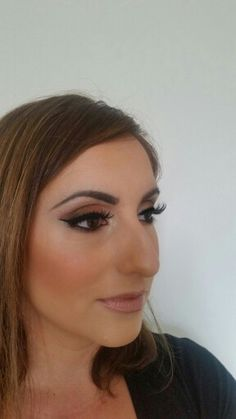 Golden smokey eye - makeup by Maria Gremos
