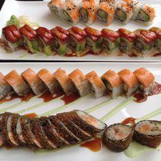 Sushi rolls at Piranha Killer Sushi