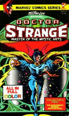 Doctor Strange Master of the Mystic Arts #1 (1978) published by Pocket Books.