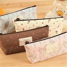 Coin Purses Coin Purses & Holders Trend Mark Mini Flowers Student Pencil Case Purse Children Pouch Case Storage Box Makeup Bag Cosmetic Wash Case 4 Colors Do You Want To Buy Some Chinese Native Produce?