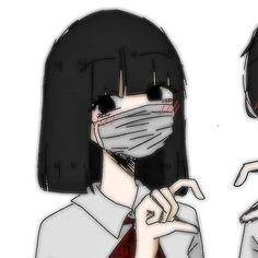 ༄ Si te gusta este tipo de contenido, estalkeame ღ Anime Neko, Otaku Anime, Kawaii Anime, Cute Anime Profile Pictures, Matching Profile Pictures, Anime Couples Drawings, Couple Drawings, Emo Art, Cute Anime Coupes