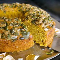 Κέικ με κολοκύθα - γλυκά αρώματα συν 3 παραλλαγές | Pandespani Bagel, Bread, Sweet, Food, Candy, Eten, Bakeries, Meals, Breads