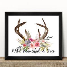 https://www.etsy.com/au/listing/476651800/wild-beautiful-free-floral-antler-print