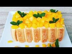 Prajitura in 10 minute fara coacere Oven Recipes, Fruit Salad, Biscotti, Yogurt, Deserts, Youtube, Food, Sweets, Pie