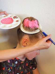 Little Hiccups: Donut Hair DIY