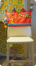 Birthday chair cover to make the day special Sewing For Kids, Baby Sewing, Diy For Kids, Crafts For Kids, Sewing Crafts, Sewing Projects, Diy Crafts, Birthday Chair, Diy Projects To Try