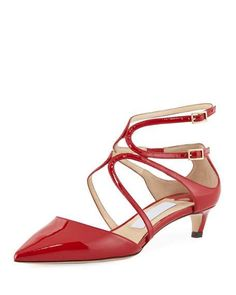 af9fcd06ecc Lancer 35mm Patent Leather Pump by Jimmy Choo at Neiman Marcus Imelda  Marcos