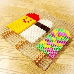 Popsicles hama beads by comill