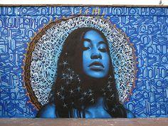 El Mac & Retna - Street Art - Milan ©2008