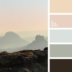 """""""пыльный"""" зеленый, оттенки коричневого, оттенки серо-зеленого, оттенки серого, пастельный бежевый, подбор цвета в интерьере, салатово-серый, серо-зеленый, цветовое решение для кухни, яркий оранжевый."""