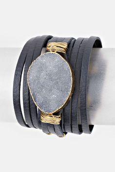 Personalized Photo Charms Compatible with Pandora Bracelets. Leather Kai Bracelet in London Quartz Leather Accessories, Leather Jewelry, Jewelry Accessories, Fashion Accessories, Jewelry Design, Unique Jewelry, Fashion Earrings, Fashion Jewelry, Fashion Bracelets