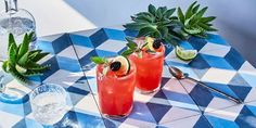 27 Summer Cocktail Recipes - Best Ideas for Tropical Summer Drinks No time to book that trip to Thailand? Sip your way to a vacation. Indian Food Recipes, Real Food Recipes, Drink Recipes, Passion Fruit Syrup, Fruit Drinks, Beverages, Lavender Syrup, Flavor Ice, Cocktails