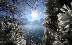 la magie de l'hiver aux 2 Alpes #les2alpes #travelski Copyright © Office de Tourisme Les 2 Alpes / Bruno Longo