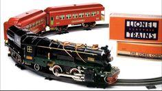 Lionel Prewar 260E O-Gauge Train (Was originally sold with blue 710 cars or 800 series freight cars).