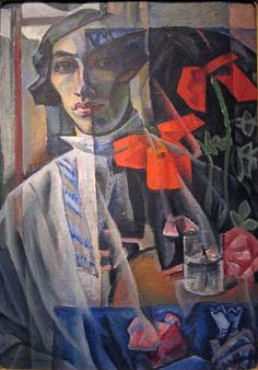 Altman, Nathan (1889-1970) - 1912 Self Portrait (Tretyakov Gallery) by RasMarley, via Flickr