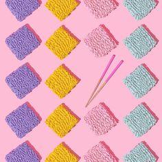 Rainbow Ramen // Violet Tinder Studios