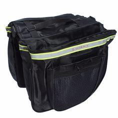 Bike Bicycle Waterproof Tail Bag Pannier Double Sides 18L