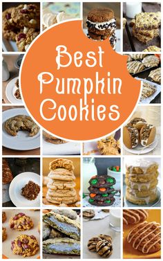 A whole collection of great pumpkin cookies, from salted caramel to no-bake, paleo to M&M.