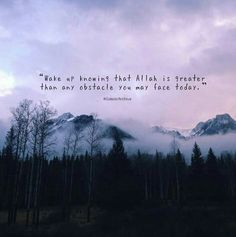 """We all might have had small or great moments, when we've faced something unbelievably difficult, and yet our hearts have been calm. That calmness came from knowing that Allah is there, no matter what. It came from knowing that the ultimate source of everything is Allah, and only He gives and takes away. And it came from knowing Allah is sufficient because everything is from Him. The feeling of """"I have Allah, and I have all I need."""" We might have been lucky enough to have felt the same…"""