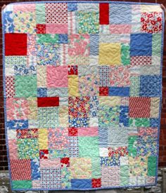 baby patchwork wall hanging quilt with hello by olivetreetextiles