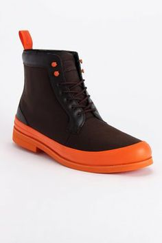 Harry Boot in Orange/Brown by SWIMS