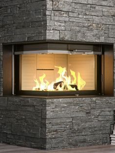The #Visio #fireplace from #RAIS has a unique ability to make any ...