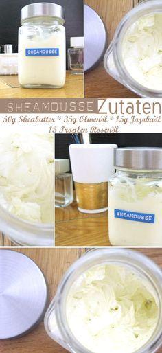 Luftig zarte Pflege aus 100% natürlichen Zutaten! Sheamousse könnt ihr selber machen – das ist gar nicht so schwer! Hier gibt's mein Lielingsrezept für Sheamousse