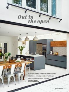 Roundhouse kitchen featured in Beautiful Kitchens May 2014