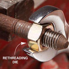 Repair Damaged Nuts and Bolts