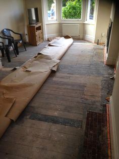 Bad quality wood floor under #carpet? What to do?