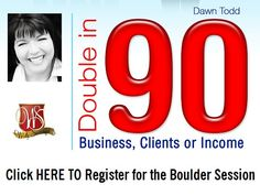 Dawn Todd double in 90 Boulder | Business Inspiration