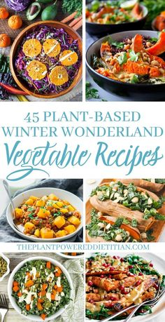 Welcome to winter! Just because its cold outside it doesnt mean you cant celebrate veggies in all of their winter glory. So Im honoring winter vegetables in this amazing collection of ( wonderland recipes. Healthy Vegetable Recipes, Vegan Recipes Easy, Healthy Food, Vegetarian Meals, Healthy Life, Healthy Eating, Grilled Vegetables, Veggies, Easy To Digest Foods