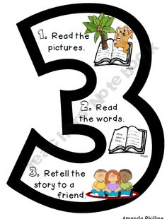 3 Ways to Read a Book - This is cuter than the quickie poster I made for the classroom! :)