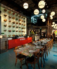 Seafood Restaurant with Elements of Arab Architecture.....