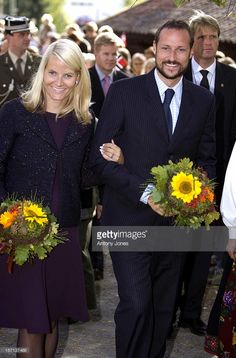 Crown Prince Haakon & Crown Princess Mette-Marit Of Norway Visit The District Of Buskerud On The Outskirts Of Oslo.Visit To The Sigdal Museum.