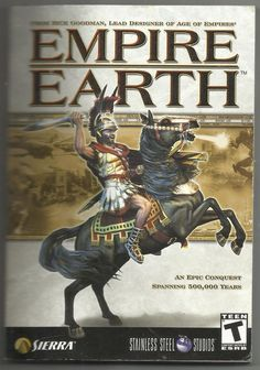 2002 Empire Earth Rick Goodman Paperback Book User Manual Guide Instructions