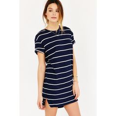 BDG Jolee T-Shirt Dress ($30) ❤ liked on Polyvore