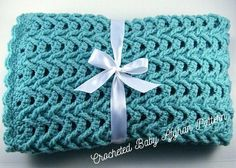 Ravelry: Cascade Car Seat Baby Afghan pattern by the Jewell's Handmades Baby Afghan Crochet Patterns, Baby Blanket Crochet, Crochet Baby, Crochet Blankets, Afghan Blanket, Crochet Dishcloths, Crochet Afghans, Crochet Squares, Crochet Stitches