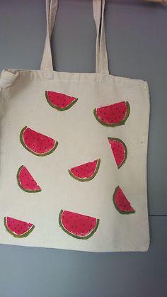 made-by-asio: Torba na owoce... malowanie na tkaninie