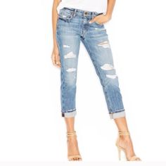 Shop Women's Joe's Jeans size 27 Jeans at a discounted price at Poshmark. Brand new with tags. Size Sold by trindyclozet. Crop Jeans, Joes Jeans, Fashion Design, Fashion Tips, Fashion Trends, Distressed Jeans, Boyfriend Jeans, Thrifting, Brand New