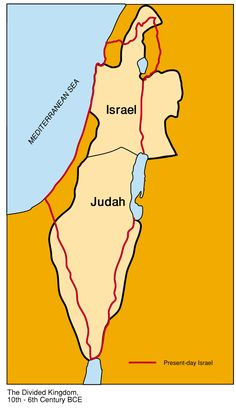 The Two Kingdoms of Israel | Jewish Virtual Library