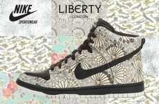 Floral Footwear #Nike #LibertyofLondon #Christmas