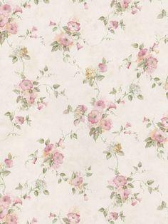 Interior Place - Beige Soft Green 413-66301 Floral Wallpaper, $23.79 (http://www.interiorplace.com/beige-soft-green-413-66301-floral-wallpaper/)