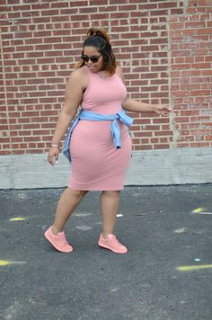Plus-Size Outfit Ideas for Fall Outfits Plus Size, Curvy Girl Outfits, Plus Size Dresses, Look Plus Size, Plus Size Women, Plus Size Street Style, Curvy Women Fashion, Womens Fashion, Plus Size Fashion For Women Summer
