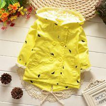 2015 новые дети девочки springAutumn куртки и пиджаки хлопок куртку ветровку ветер маленькие дети(China (Mainland))